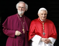 dr rowan williams - pope benedict